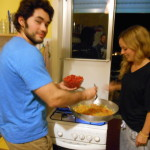 Pasta Party and cooking lesson